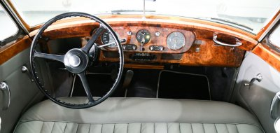 Bentley S1 1959 interior