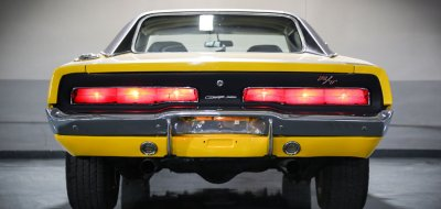 Dodge Charger R/T 1969 rear view