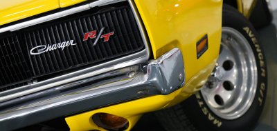 Dodge Charger R/T 1969 front left closeup view