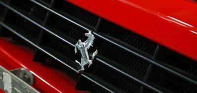 Ferrari F512TR Testarossa 1993 - Ferrari emblem