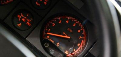 Ferrari F512TR Testarossa 1993 speedometer