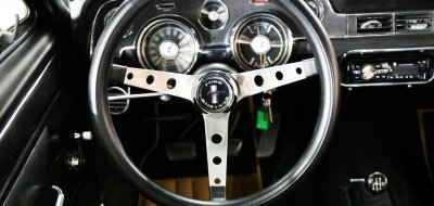 Ford Mustang 1967 steering wheel