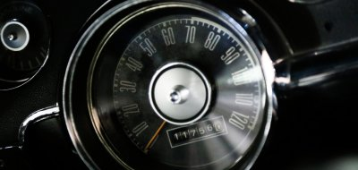Ford Mustang 1967 speedometer