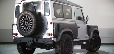 Land Rover Defender 2006 KAHN edition rear right view