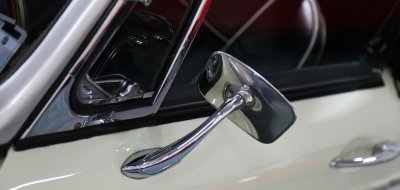 MG C 1969 side mirror