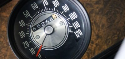 Oldsmobile Cutlass Supreme 1970 speedometer