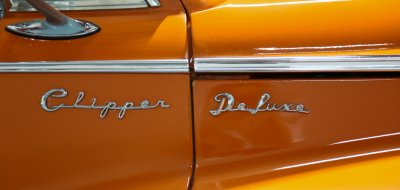 Packard Clipper 1946 side closeup view