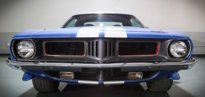 Plymouth Barracuda 1973 front view