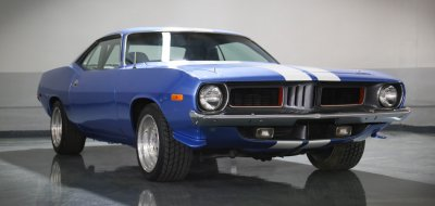 Plymouth Barracuda 1973 front right view