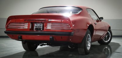 Pontiac Firebird Formula 1974 rear left view