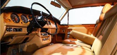 Rolls Royce Corniche 1973 interior
