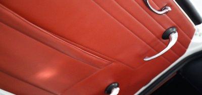 Triumph TR4 door inner view
