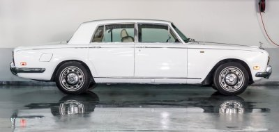 Restoration Project - Rolls Royce Silver Shadow 1976 - before