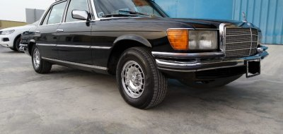 Restoration of Mercedes Benz 6.9 - 1976