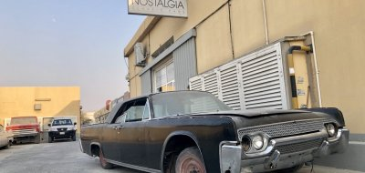Lincoln Continental 1961 - before restoration