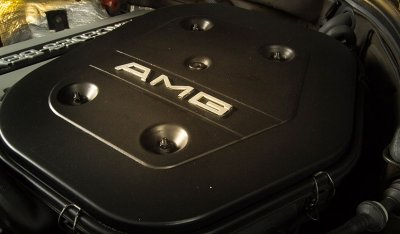 AMG Engine of the Mercedes Benz 3,4 AMG CE300 1991