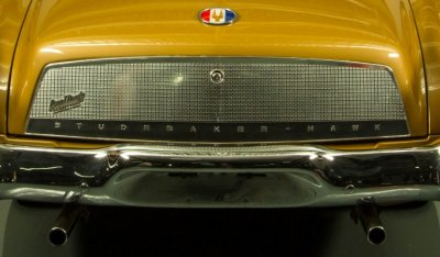 Studebaker Gran Turismo Hawk 1963 rear view