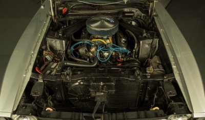 "Ford Mustang ""Boss"" 1973 engine - under the hood!"