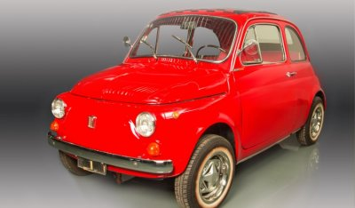 Fiat 500 1971 front right view
