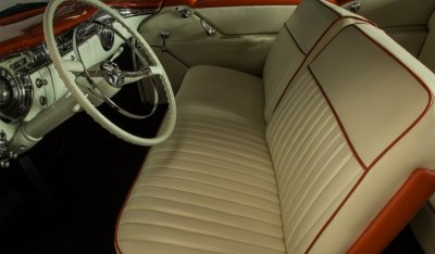 Oldsmobile 88 1956 interior