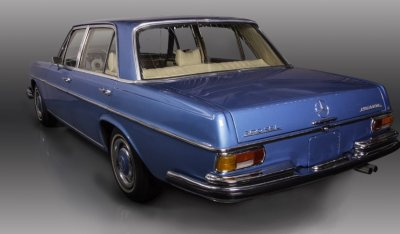 Mercedes Benz SEL300 1967 rear left view